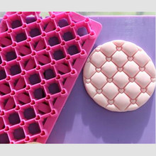 Hot Sale Fondant Cake Cookie Stamper Love Heart Shape Plastic Cookie Biscuit Press Printing Molds With Handle Cookie Tools