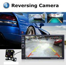 2017 Новый Автомобиль MP4 Видео Плеер 2 Din Автомобильный MP5 Player 7 7-дюймовый Сенсорный Экран Авто Радио Пульт Дистанционного Управления С Камеры Заднего вида