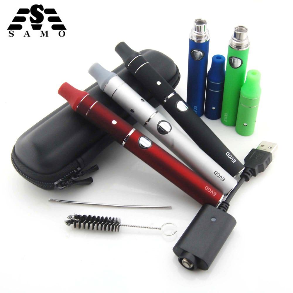 SUBTWO Mini Ago cigarrillo electrónico vaper kit de cera de hierbas secas vaporizador pluma 1100 mAh/900 mAh/650 mAh e cig sigara bobina de cera seca