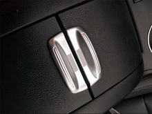 Yimaautotrims Armrest Box Switch Decoration Handle Interior Mouldings Cover Trim Fit For Toyota Highlander KLUGER 2017 2018 2019