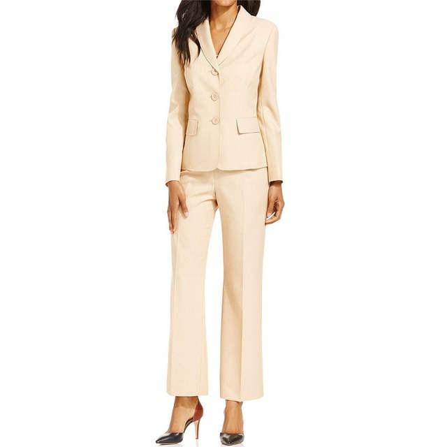 1e5fb5f9 US $88.2 10% OFF|Niestandardowe spodnie garnitur wykonane panie garnitury  biurowe elegancka odzież robocza damska zestaw spodnie garnitur kobiet ...