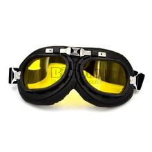 GT-002 Universal Black Frame Goggles Motorcycle Glasses Motocross Helmet Goggle Offroad Eyewear Outdoor
