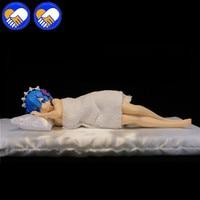 22 см аниме re: жизнь в другом мире от нуля фигурку Sleepy rem кукла ПВХ фигурку Коллекционная модель взрослых Игрушечные лошадки
