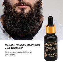 Men Beard Growth Oil Kit Soften Hair Growth Nourishing Enhan