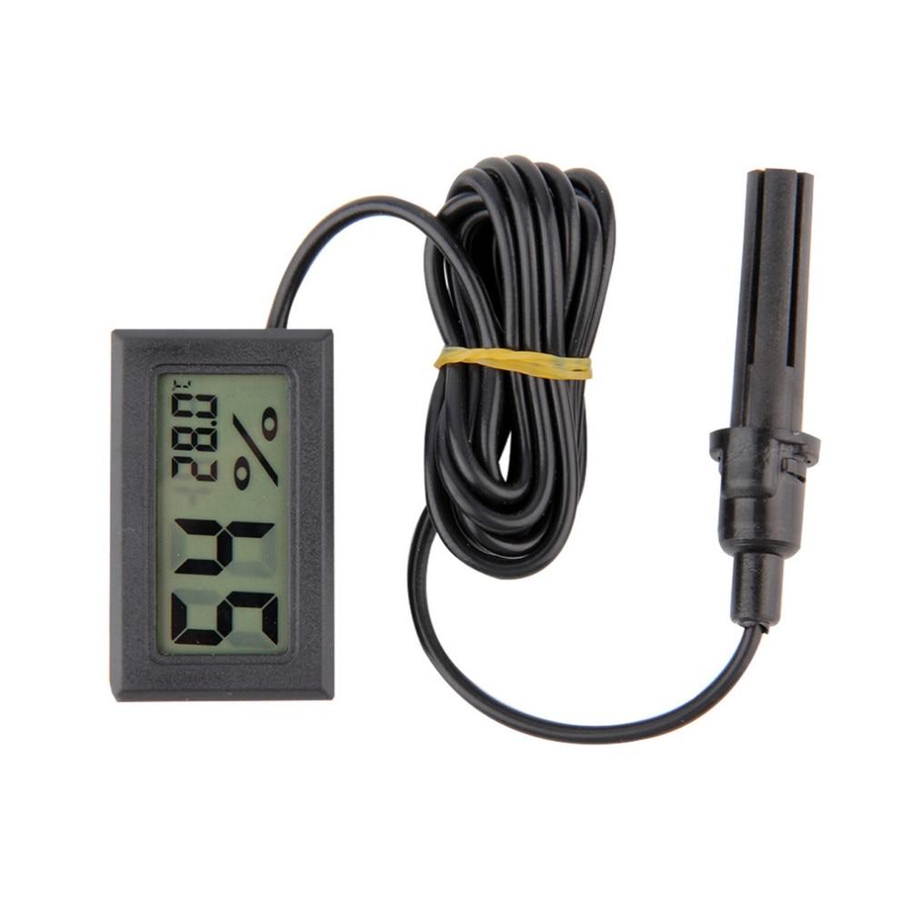 5PCS Professional Mini Probe LCD Digital Thermometer Hygrometer Temperature Humidity Meter Digital Display Free shipping