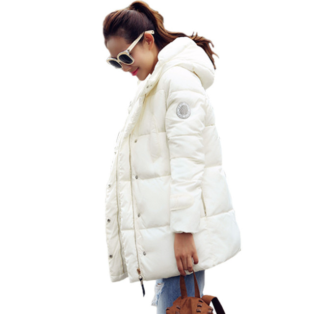 2016 New Long Parkas Female Women Winter Jacket Coat Thick Down Cotton Warm Jacket Womens Parkas for Women Winter Outwear