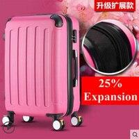 26 Inch Hoge Capaciteit Rolling Bagage Spinner Studenten Wachtwoord Koffer Wielen 20 Inch Carry Op Trolley Reistas