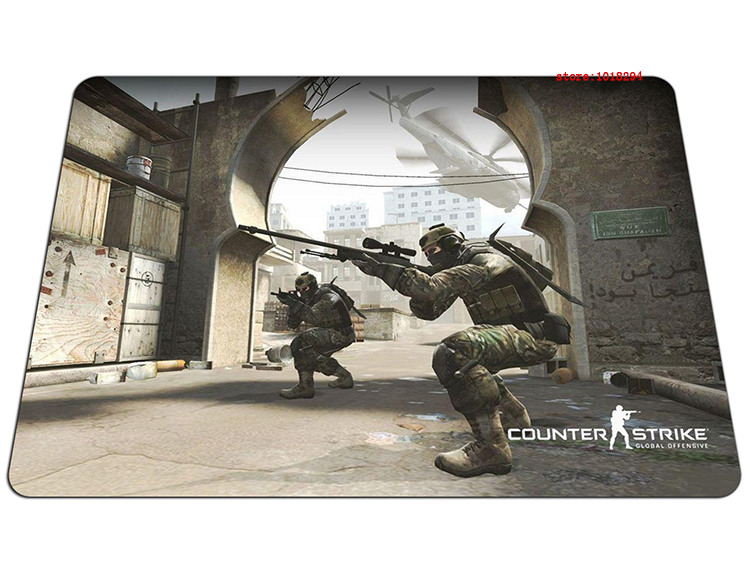 cs go mousepad High quality gaming mouse pad HD print gamer mouse mat pad game computer desk padmouse keyboard large play mats