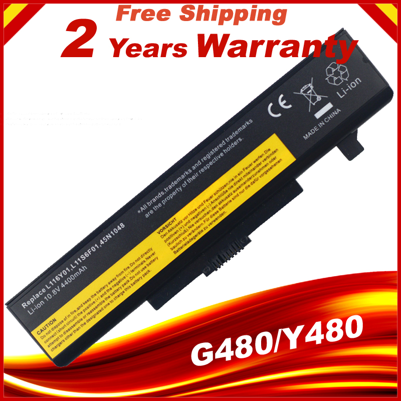 HSW Laptop Battery For Lenovo G480 G400 Y480 Y485 Y580 Z580 G500 Z485 Z480 G485 G410 Z380 L11S6Y01