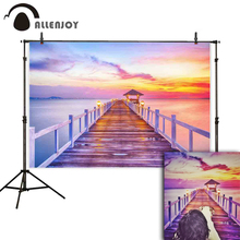 Allenjoy new arrivals photo backdrop beach summer corridor Twilight natural Beauty background photobooth studio fabric shoot
