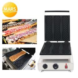 Korea Super Big & Long Waffle Maker 110V 220V Pizza Ice Cream Waffle Machine Iron Baker Making Pan Equipment