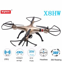 SYMA X8HW FPV RC Drone with WiFi HD Camera Real-time Sharing 2.4G 4CH 6-Axis Quadcopter with Hovering Function Headless hovering