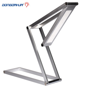 Newest DC5V Portable Folding Foldable LED Desk Lamps Reading Light Rechargeable Desk Light for Study Bedroom continuously 10h