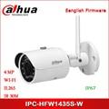 Dahua IP камера 4MP IPC-HFW1435S-W камера безопасности IR H.265 пуля Wi-Fi Сетевая камера