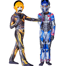 2017 NEW Halloween performance wear children cosplay costumes Transformers play clothing Optimus Prime  superhero costume