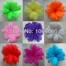 """EMS Free Shipping! 200pcs/lot 40-45cm 16-18"""" Top quality ostrich feathers ostrich drab feather plumes"""