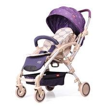 Bell baby stroller two-way ultra-light portable folding umbrella car summer baby car