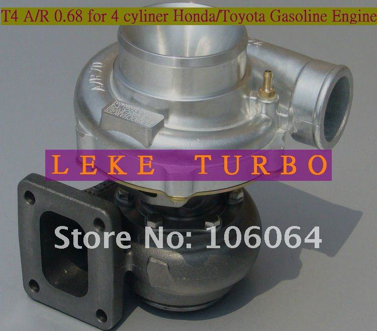 New T4 A/R 0.68 Turbo Turbocharger For HONDA CIVIC TOYOTA Cylinder Gasoline Engine