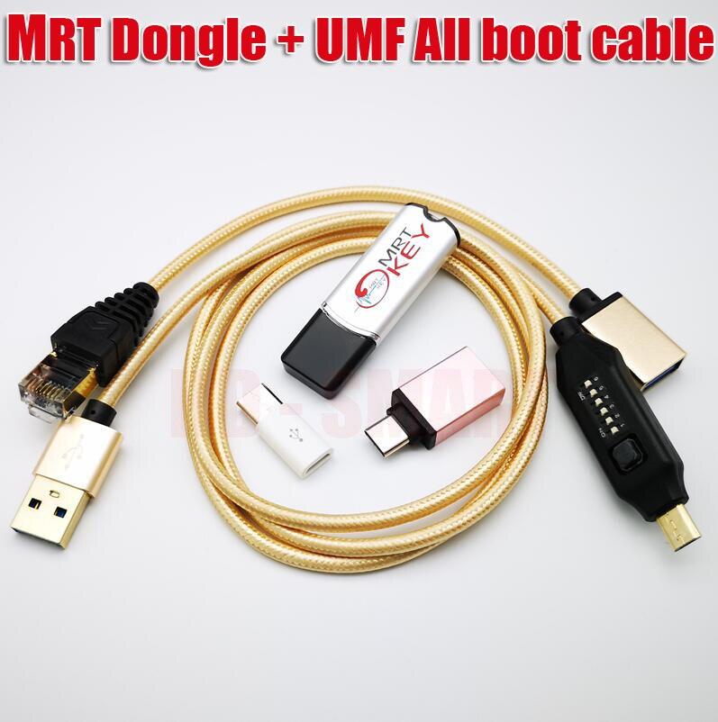 Original MRT Dongle mrt schlüssel + UMF kabel (Ultimative Multi-Funktionale Kabel) Alle boot kabel