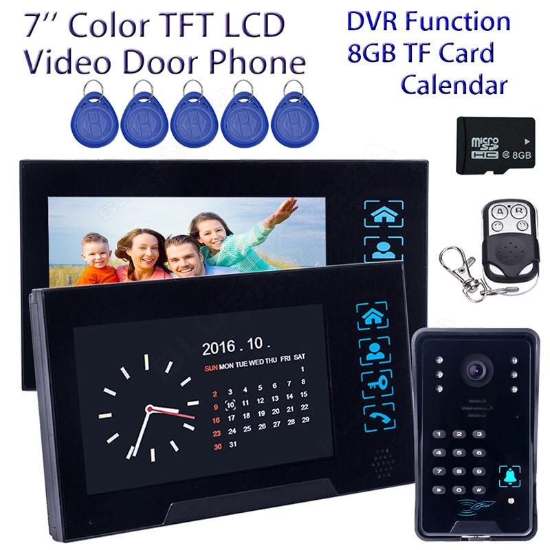 Free shipping 7 font b Door b font Phone Bell WD02SRR12 HD font b Camera b