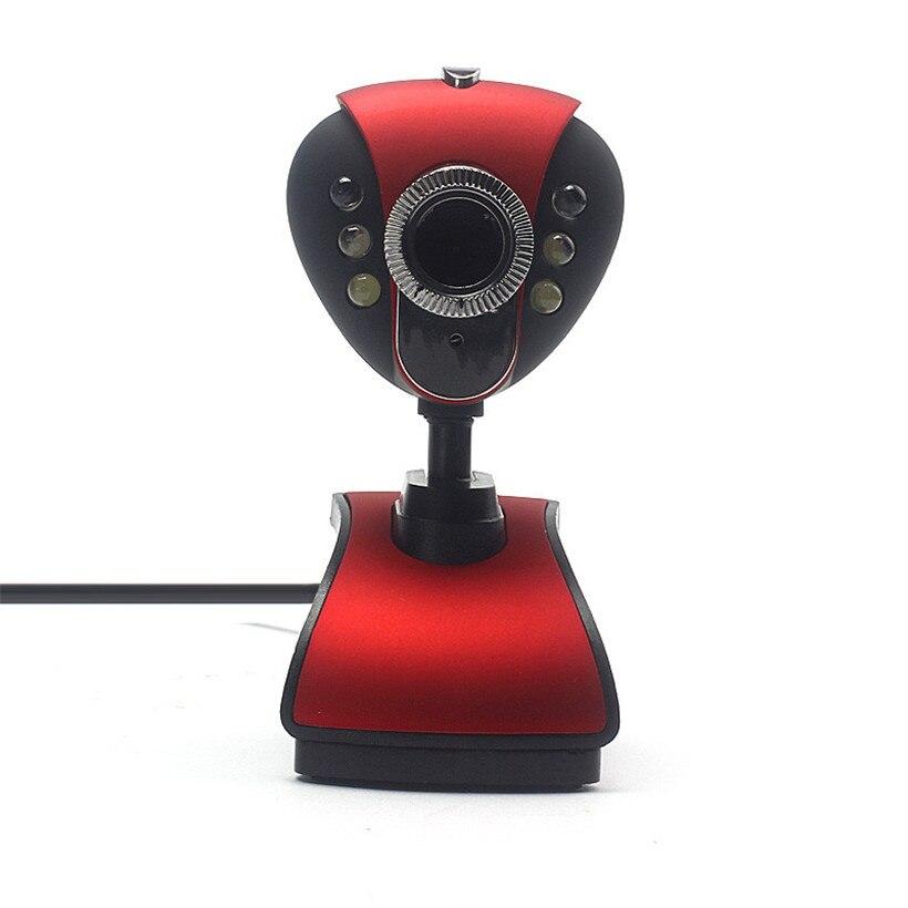 Webcams Erweiterte 2018 Usb 2.0 Hd Webcam Kamera Web Cam Mit Mikrofon Mic Led Für Pc Laptop Freies Verschiffen Ein Bereicherung Und Ein NäHrstoff FüR Die Leber Und Die Niere