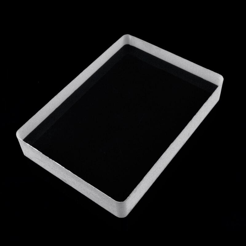 Omni Deck Glass Card Deck, Ice Bound, Card Magic Tricks,Close Up Magic,Illusions,Accessories,Gimmicks Magician Poker Clear Block