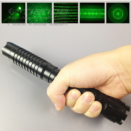 5 star head strong power green laser pointer 10000mw 10w 532nm high power burn match,burn cigarettes+Changer+glasses+Box