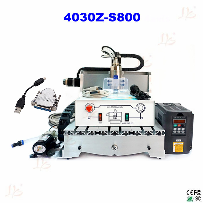 ship to EU no tax! 3040 cnc router engraver 4030 Z-S800 cnc milling machine cnc wood carver high quality 3040 cnc router engraver engraving machine frame no tax to eu