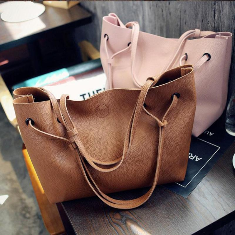 2 Pcs/Set High Capacity Bags for Women  hand bags  Handbags Women Bags 4 one size 30