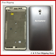 Origina Full Housing Back Battery Cover Door Frame Replacement For Lenovo S860 Free Shipping Tracking