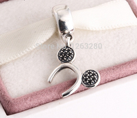 Fits Pandora Bracelets Mickey Headband Silver Charms With Zirconia New Real 925 Sterling Silver Beads DIY