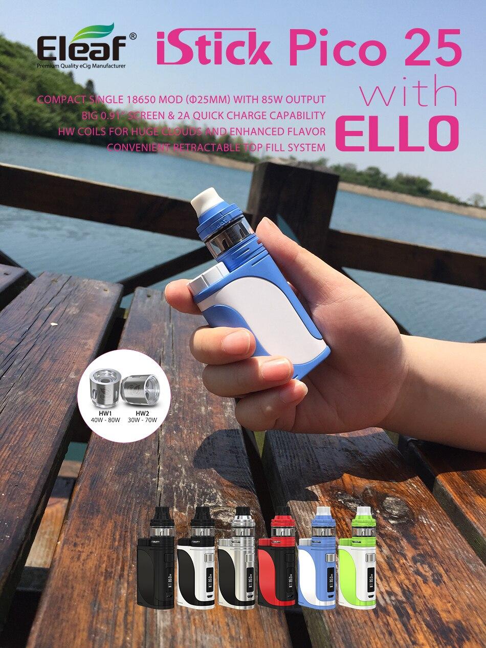 Eleaf iStick Pico 25 kit with ELLO Atomizer