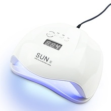 New SUNX 54/48/40/36W UV Led Lamp Nail Dryer For All Types Gel UV Lamp for Nail Machine Curing 10/30/60s Timer Infrared sensor [sa] new japan genuine original sunx sensor su 7 spot 2pcs lot