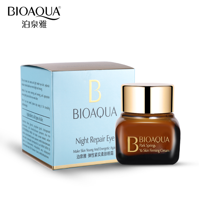 BIOAQUA מותג 20g הרמת קרם עיניים טיפוח העור הלבנת לחות הידראטיבי נגד קמטים הסר קרם כהה קרם עיניים