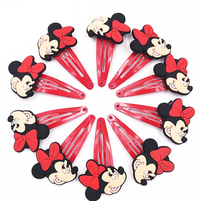 Back To Search Resultsmother & Kids 10pcs Mickey Minnie Hello Kitty Cat Pvc Elastic Rubber Hair Bands Girls Scrunchie Hair Accessories Accesorios Para El Cabello
