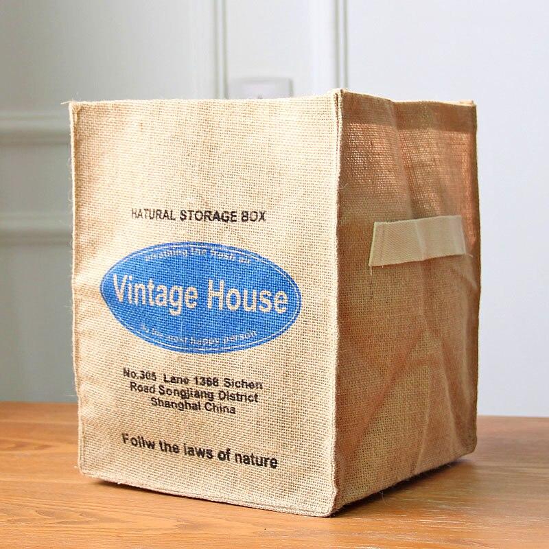 """""""Zakka"""" medvilnės drobės """"Vintage"""" laikymo skalbinių - Organizavimas ir saugojimas namuose - Nuotrauka 3"""