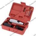 Mini electric drill+ 15pcs grinding accessories + adapter Multifunction Engraving machine Electric tool set kit