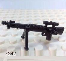 FG42 rifle Sniper arma de brinquedo modelo de construção original swat da polícia da cidade de armas militares militar arma acessórios
