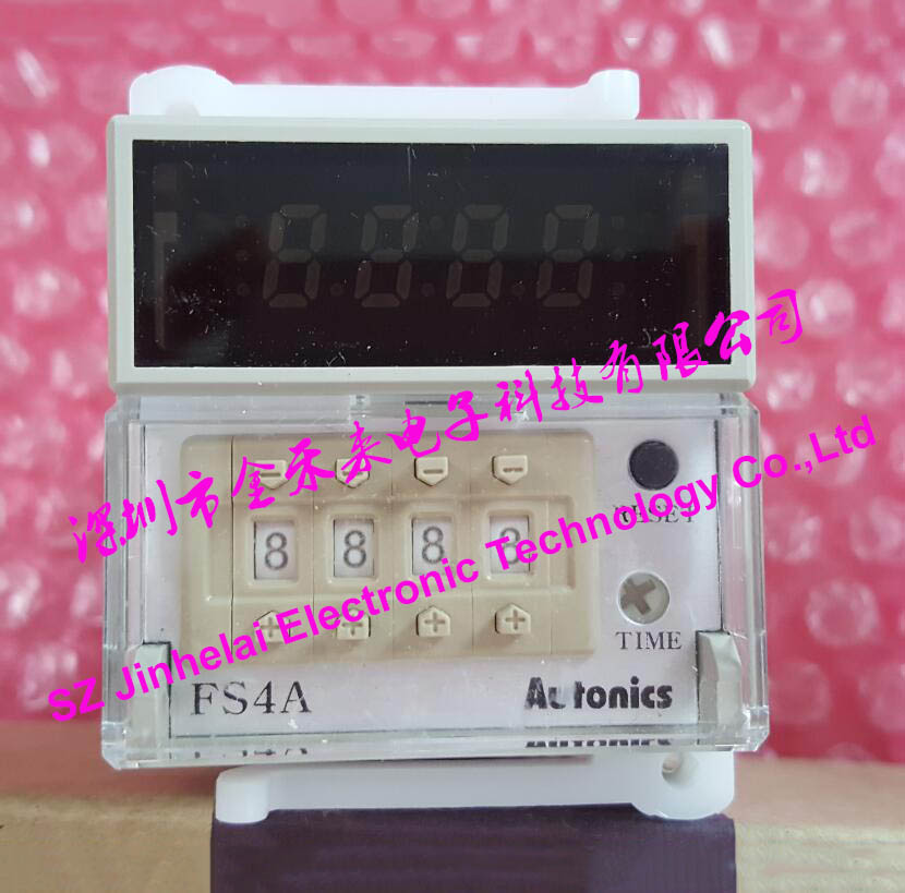 New and original FS4A AUTONICS Time relay,COUNTER/TIMER customized 3d wallpaper 3d pvc floor painting wallpaper sea fish 3d floor tile beauty 3d wall murals room decoration