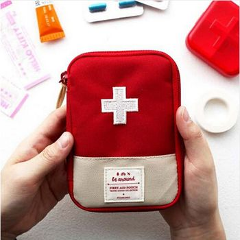 Outdoor First Aid Emergency Medical Bag Medicine Drug Pill Box Home Car Survival Kit Case image