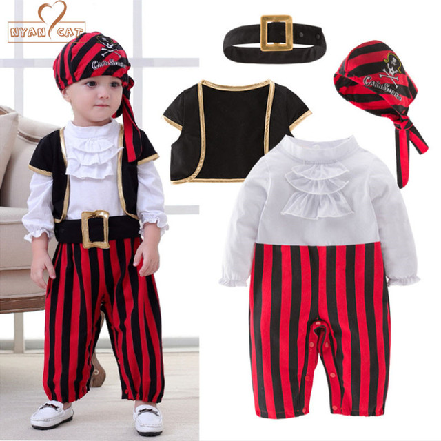 Nyan Cat Halloween Boys Set Cosplay Children S Pirate Costume Dance