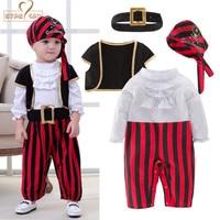 NYAN CAT Halloween Boys Set Cosplay Children S Pirate Costume Dance Boys Set Children Boys Clothes