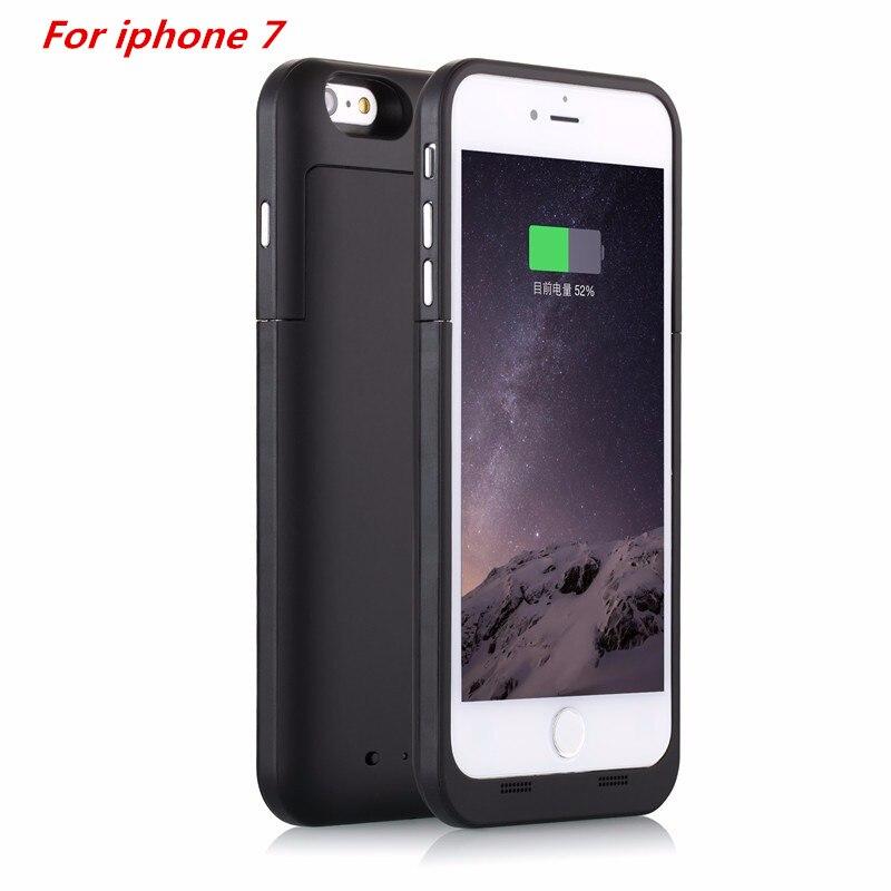 imágenes para 2017 ultra-delgada caja de batería de 4500 mah para iphone 7 colorido del cargador de batería caja de batería del banco para el iphone 7 4.7