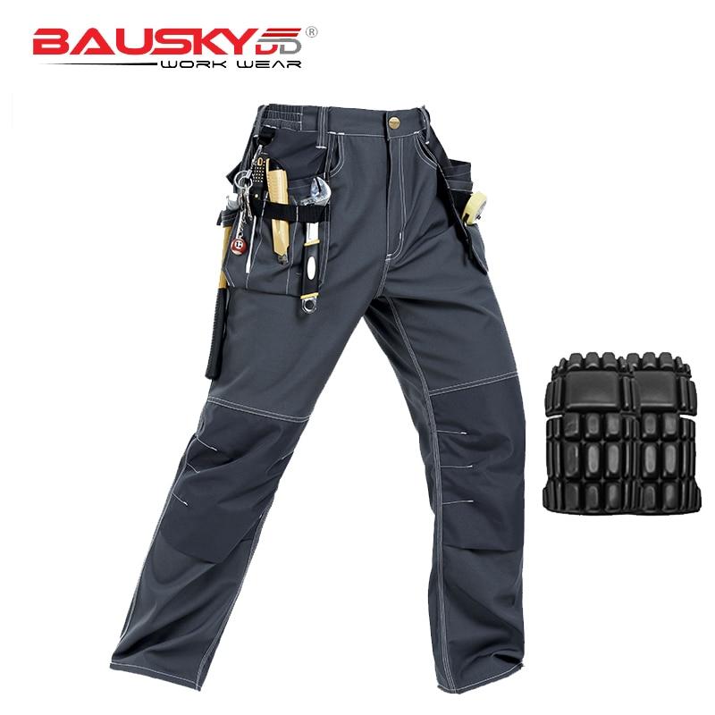 Painter dark grey working pants men workwear with knee padsPainter dark grey working pants men workwear with knee pads