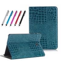 Fashion Crocodile PU Leather Case For Samsung Galaxy Tab A 8 0 T350 T355 SM T355