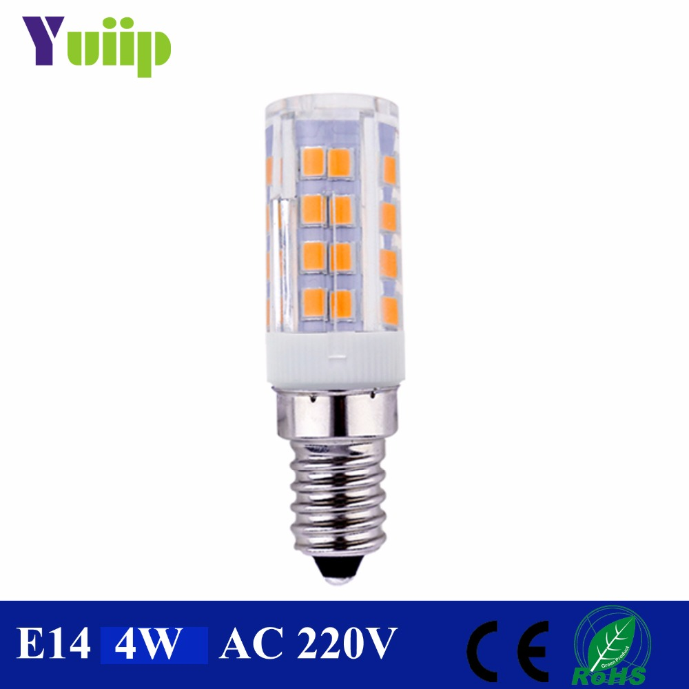 Yuiip lampadine led e14 bulb 220v 2835 smd light 360 beam for Lampadine led e14 prezzi