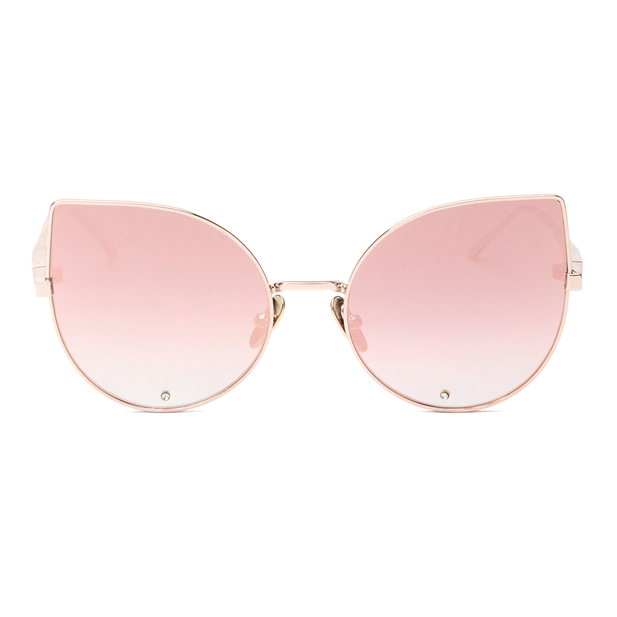 7d7af668d0db3 High Quality Brand Designer Womens Sun Glasses Vintage Pink Cat Eye  Sunglasses Rose Gold Sunglasses Ladies Shades Lentes de sol