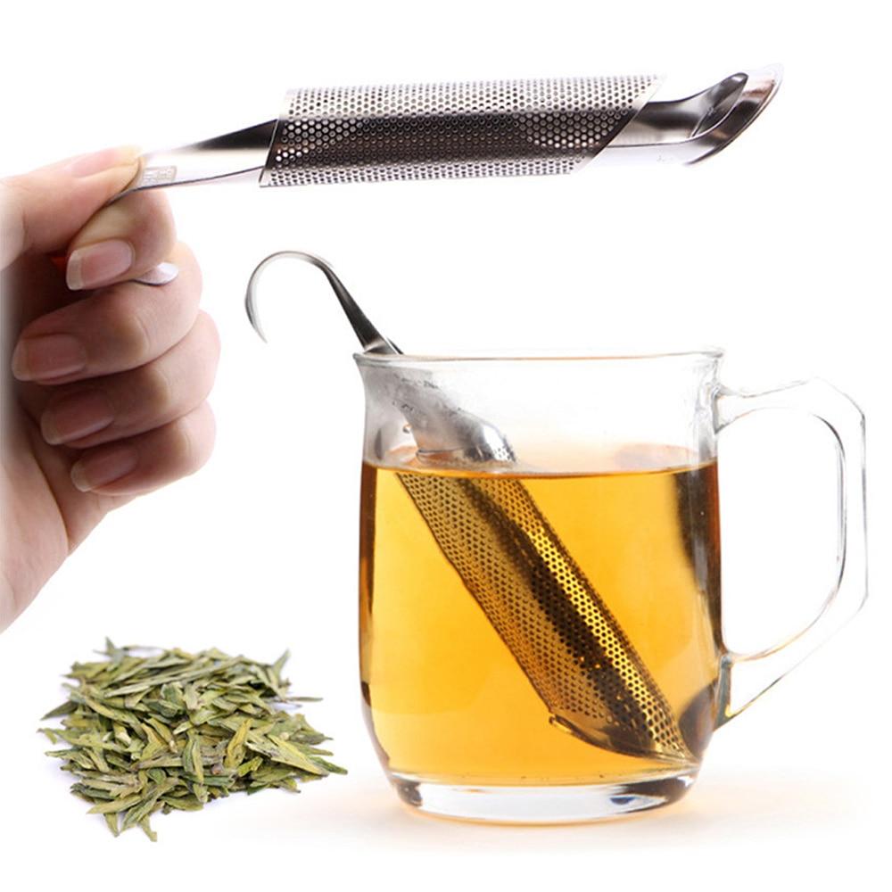 Design Long Strainer Tea Spoon Filter Good Tea Holder Tea Infuser Tea Tool