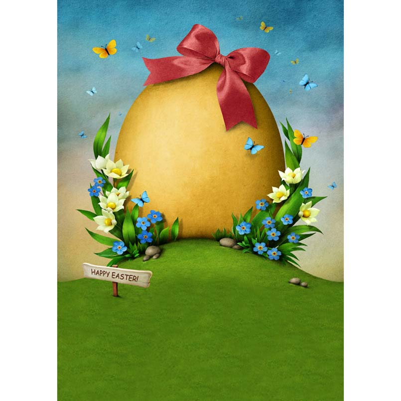 MEHOFOTO Happy Easter Day Theme Children Photo Background 5x7ft Vinyl Cloth Photography Backdrops for Photo Studio GE-318 custom spring easter day flowers photography background for children photo studio vinyl digital printing cloth backdrops s 461