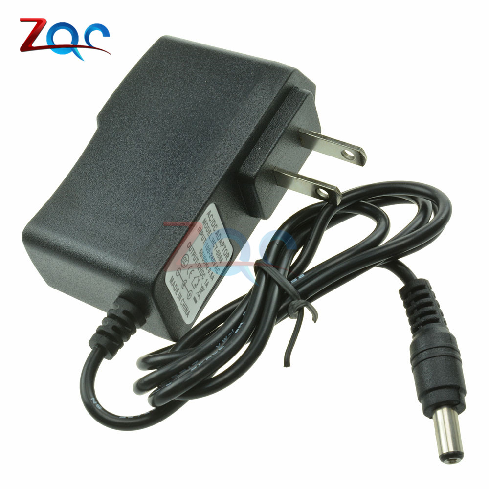 AC 100-240V to DC <font><b>12V</b></font> 9V 5V 1A <font><b>1000mA</b></font> AC/DC Converter Adapter Switching Power Supply Converter Adapter US Plug 5.5mm x 2.1mm image